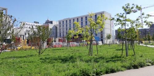 Az új közpark egy régi polgármester, Helmut Zilk nevét viseli